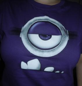 Bei dem Shirt muss ich trotzdem immer lachen :)